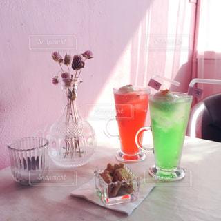 ソウルのカフェの写真・画像素材[1208168]