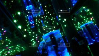 光の世界 クラゲの写真・画像素材[1213090]