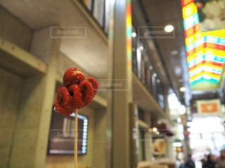 錦市場のたこたまごの写真・画像素材[1665904]