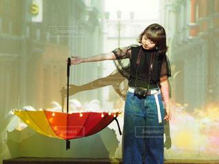 女性,傘,鮮やか,人物,フォトジェニック,sweetsbynaked