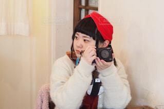 カメラみて!の写真・画像素材[1265778]