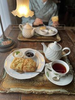 喫茶店巡りの写真・画像素材[3947951]