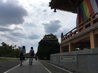 京都,紫陽花,雨雲,智積院