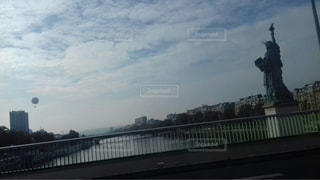 空,屋外,フランス,パリ,自由の女神,バルーン,日中