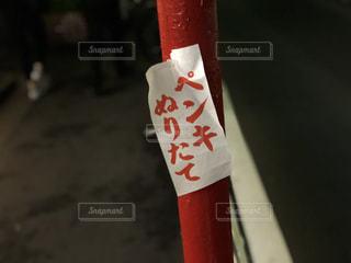 近くに赤と白のシャツのの写真・画像素材[1211469]