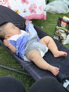 夏,子供,キャンプ,野外,熱中症,熱中症対策