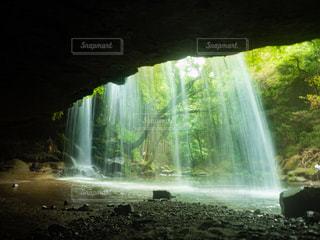 鍋ヶ滝の写真・画像素材[1448094]
