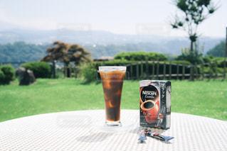 夏と旅とスティックコーヒーの写真・画像素材[1308181]