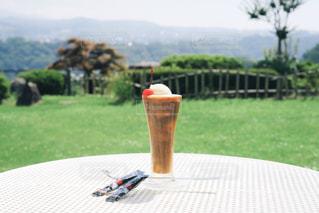 夏と旅とコーヒーフロートの写真・画像素材[1308186]