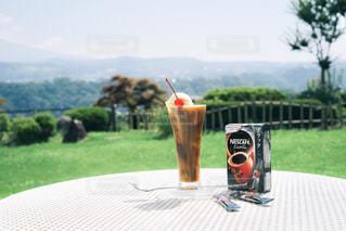 夏と旅とコーヒーフロートの写真・画像素材[1308191]