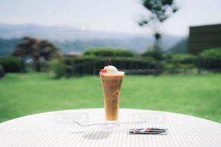 夏と旅とコーヒーフロートの写真・画像素材[1308197]