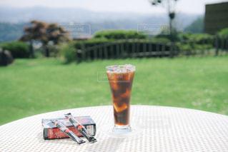 夏と旅とアイスコーヒーの写真・画像素材[1308200]