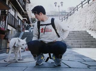 犬好きなヒトの写真・画像素材[1693439]