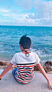 10代,ファッション,海,夏,ボーダー,沖縄,Tシャツ,小学生,夏休み,コーディネート,男の子,コーデ,真夏