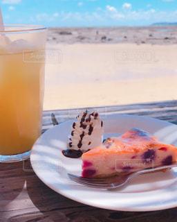 海辺のカフェの写真・画像素材[2252473]