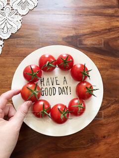 トマト大好きの写真・画像素材[3670203]