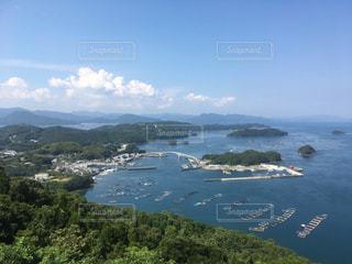 海と空と陸の写真・画像素材[1213731]
