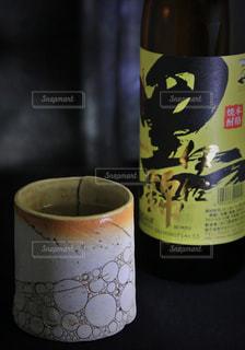 黒伊佐錦のお湯割りの写真・画像素材[1426345]