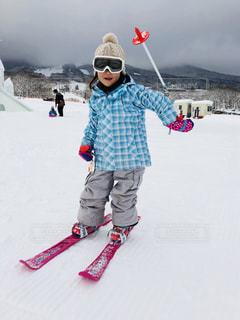 冬,雪,白,雪山,山,子供,スキー,寒い,練習,長野,スキー場,ホワイト