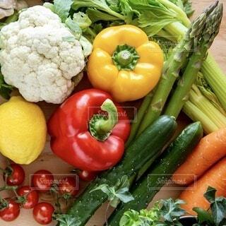 新鮮な野菜たちの写真・画像素材[3668922]