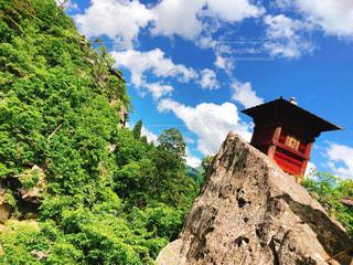 山寺の写真・画像素材[1215192]