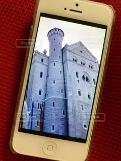 ノイシュバンシュタイン城、冬の写真・画像素材[1464622]