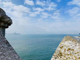 リスボン、ベレンの塔よりの写真・画像素材[3010637]