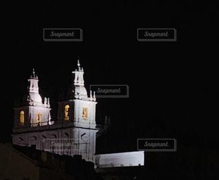 リスボンの夜景の写真・画像素材[3011133]