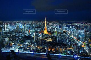 東京タワーの写真・画像素材[585521]