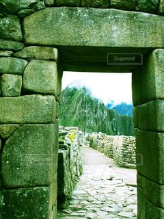 切りとられたマチュピチュの写真・画像素材[1224202]