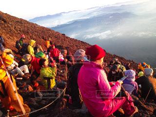 富士山の朝の写真・画像素材[1228271]
