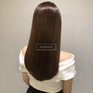 つやつやうるつや髪の写真・画像素材[2461289]