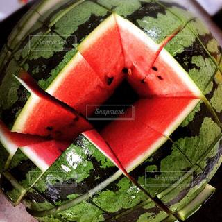 食べ物,夏,赤,白,スイカ,黒,フルーツ,果物,果実,美味しい,グリーン,四角,食材,大好物,西瓜