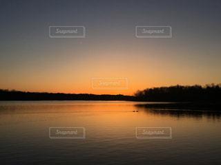 夕焼け空の写真・画像素材[1270088]