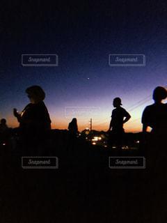 silhouetteの写真・画像素材[1320153]
