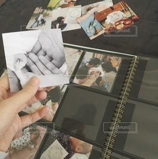 ましかくアルバムで写真整理の写真・画像素材[2690935]