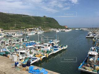 漁船の休息(飯岡漁港)の写真・画像素材[1254057]