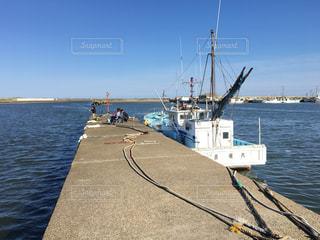 岸壁釣り(片貝漁港)の写真・画像素材[1254061]
