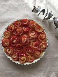 ケーキ,フルーツ,果物,タルト,りんご,果実,アップルパイ