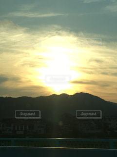風景,空,屋外,夕暮れ,日中