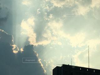 風景,空,屋外,雲,夕焼け,日中