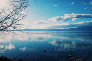 青い琵琶湖の写真・画像素材[1228394]