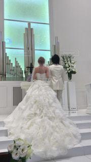 ウェディング ドレスの人の写真・画像素材[1230762]