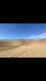 鳥取砂丘にての写真・画像素材[1235637]