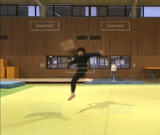 練習,アクション,体操場,ラウンドキック,片足旋風