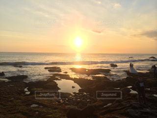 自然,海,夕日,太陽,夕暮れ,日没,バリ島,インドネシア,ウェディング,フォトジェニック