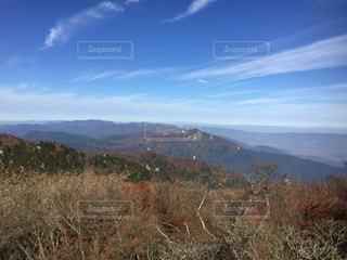 背景の山と木の写真・画像素材[1240126]