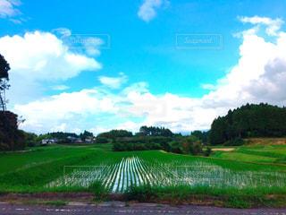 絵のような田舎の風景の写真・画像素材[1235713]