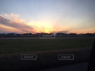 夕焼け空の写真・画像素材[1235714]
