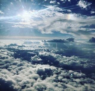 自然,空,屋外,雲,飛行機,かっこいい,飛ぶ,空中,くもり,フライト,日中
